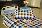 G-13 pure cotton 6 color checked hospital bed linen set